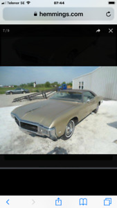 Buick riviera late 60th wanted of a private serious buyer!!!