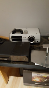 Xbox one and 1080P Epson Projector