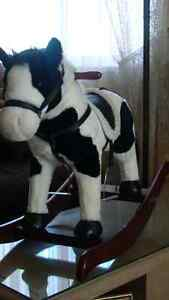 ANIMATED PLUSH ROCKING HORSE Campbell River Comox Valley Area image 2