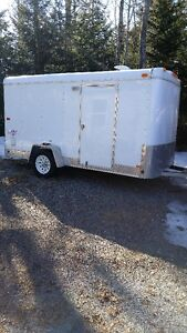 12 ft enclosed trailer Hallmark