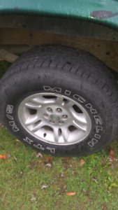 Need  a tire  for my truck