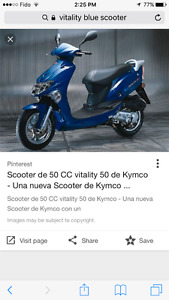 2014 vitality 50cc scooter