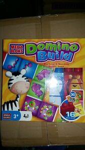 Mega Bloks Domino Build Color & Matching Builder Game 3+ $15!