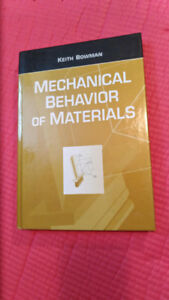 Mechanical Behavior of Materials book $20 obo