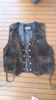 Leather Vest Wannanup Mandurah Area Preview