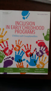 Inclusion in Early Childhood Programs