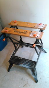 Workmate Folding Work Bench/Vice