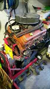 Chevy Small block 350 with 700R4 tranny and driveshaft