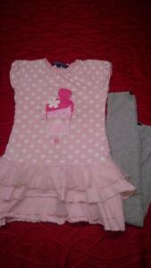 Gros lot de vêtements pour fille 6-7 ans 50 morceaux