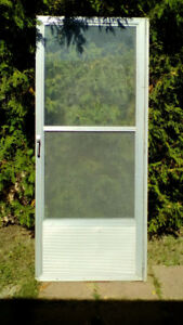 Screen Storm Door (Aluminum)