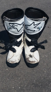 Alpinestar No Stop trials boots Size 11