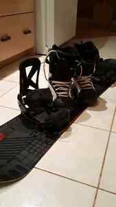 155cm K2 snowboard (boots and bindings included)
