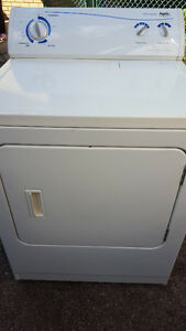 Electric dryer 100.00, white, works well, Delivery available