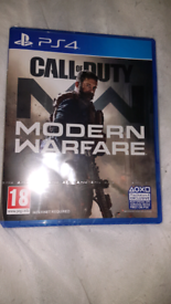 Call of Duty Modern Warfare Ps4 - Brand new & sealed game.
