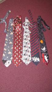 REDUCED - Lot of 5 Coca-Cola Polar Bear Neckties