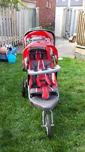 Schwinn Grande Safari double stroller