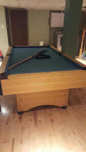 A Pool Table For Free