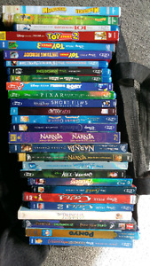 Disney DVDs and Blu Ray