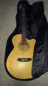 Crafter Guitar Acoustic Electric with Tuner