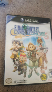FINAL FANTASY CRYSTAL CHRONICLES FOR NINTENDO GAMECUBE $40