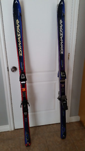 Downhill skiis & bindings- 2 for 1 $175. / or $90. each