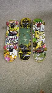 3 Quality Skateboards - Tony Hawk etal. I'm