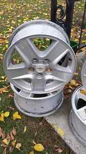 15 inches alloys rim from Malibu for $160 West Island Greater Montréal image 2