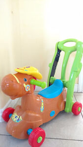 Vtech rocking ride-on rocker and racer (2-in-1) (French&English)