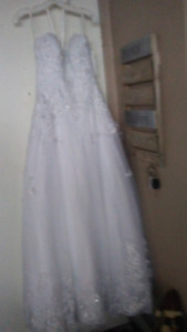 Never Worn Brand New Beautiful Wedding Dress from David's Bridal