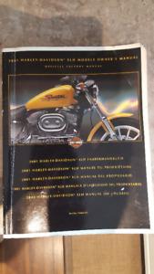 2001 Harley Davidson XLH 883/1200 Official Factory Manual