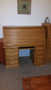 Antique style Roll Top Desk