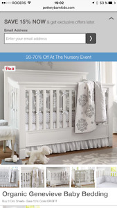Litterie pour fille pottery barn