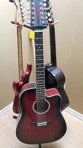 12 String Acoustic Electric with Hardcase