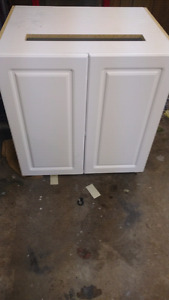 """Two new Home depot 30"""" cabinets"""