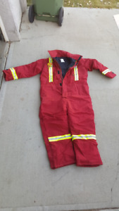 Winter Coveralls 2 XLT fire retardant insulated brand new