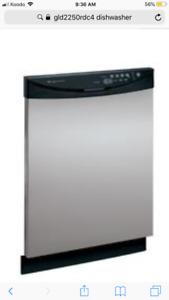 Frigidaire Gallery Dishwasher GLD2250RDC4
