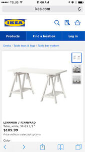 White Dining Table / Desk / Drafting Table (Lile New!)