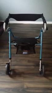 3 wheel folding aluminun rollator walker