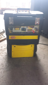 Stanley tool box on wheels