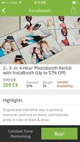 Photobooth Rental with InstaBooth