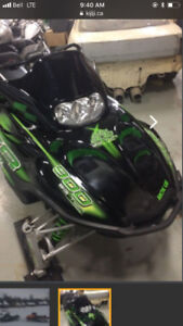 snowmobile trade for motorcycle