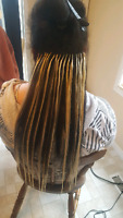 Fusion hair extensions $300