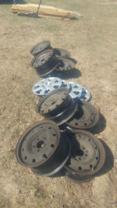 15`` Steel Rims for Sale