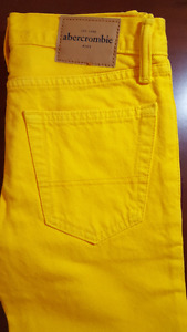 Abercrombie & Fitch Kids Skinny Colored Jeans SIZE 14