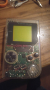 Original game boy clear with game