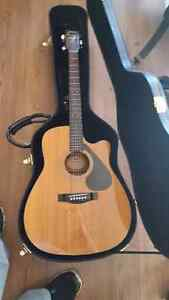 Yamaha acoustic electric guitar