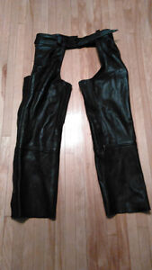 Ladies medium Joe rocket pants and leather chaps **REDUCED**