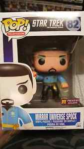 Star trek: mirror universe Spock, funko pop!