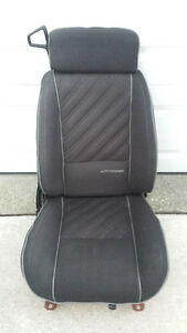 1987 Camaro Z28 IROC Front Passenger Seat Black