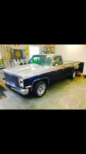 1986 chevy MAY TRADE  FOR 4X4 4 DOOR TRUCK